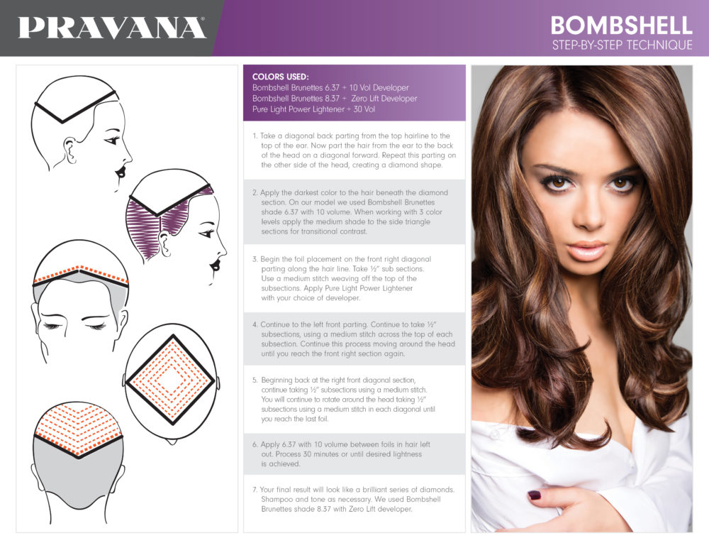 Head Sheets - PRAVANA - Hair Color & Hair Care Products for