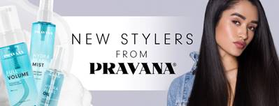 NEW STYLERS FROM PRAVANA