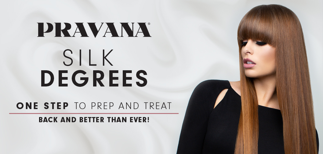 PRAVANA SILK DEGREES ONE STEP TO PREP AND TREAT BACK AND BETTER THAN EVER!