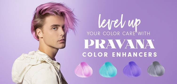 level up YOUR COLOR CARE WITH PRAVANA COLOR ENHANCERS