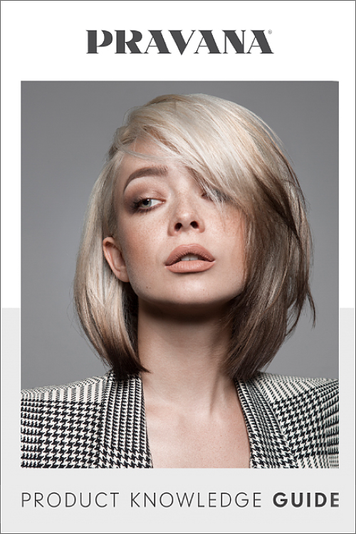 hair model on a magazine cover