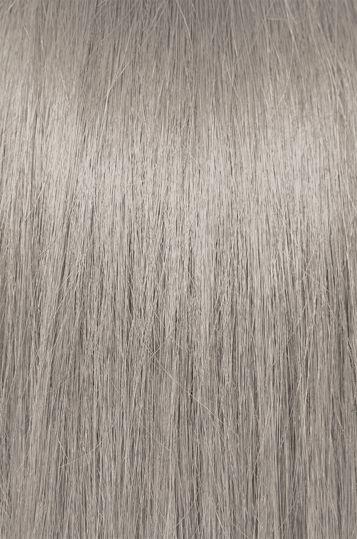 swatch of hair color for high lifts light violet